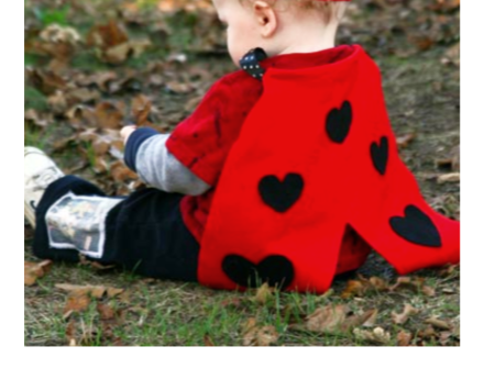DIY No-Sew Ladybug Costume