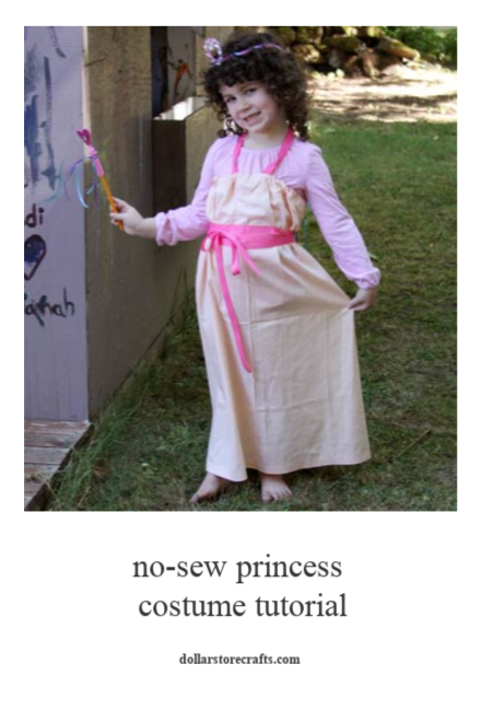 No-Sew Princess Costume Tutorial